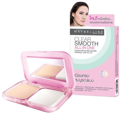 Clear Smooth All in One Spf25 Pa++  01 Light Pink White