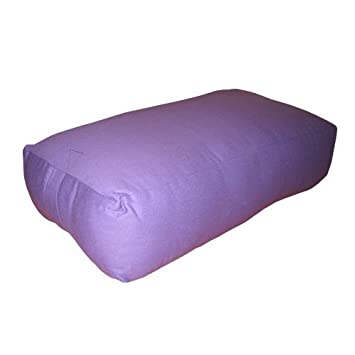 Nu-Source 25 x 16 in. Rectangular Yoga Bolster Canvas Cover ...