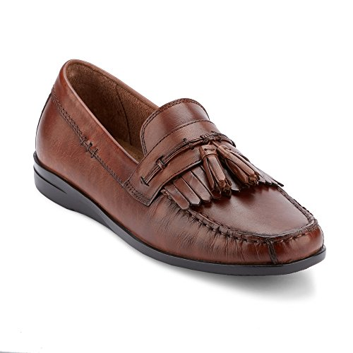 Dockers Men's Freestone Slip-on Loafer, Antique Brown, 8.5 M - Mens And E S Warehouse