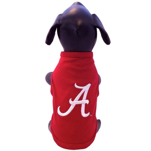 NCAA Alabama Crimson Tide Cotton Lycra Dog Tank Top, X-Small by All Star Dogs