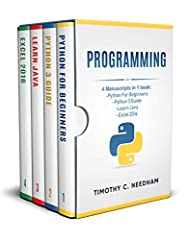 This Box Includes 4 Manuscripts in 1 book:- Python For Beginners: A Crash Course Guide To Learn Python in 1 Week - Python 3 Guide: A Beginner Crash Course Guide to Learn Python 3 in 1 Week - Learn Java: A Crash Course Guide to Learn Java in 1...