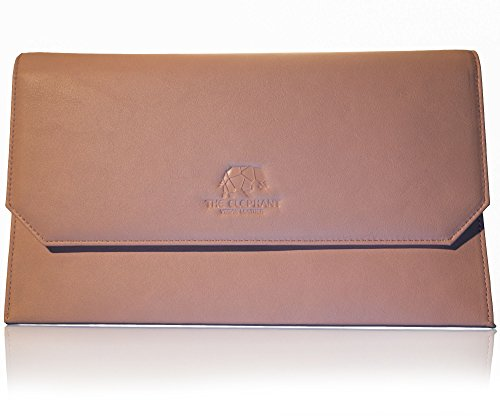 The Elephant Co. Vegan Leather RFID Blocking Clutch Handbag (Dust Pink) by The Elephant co.