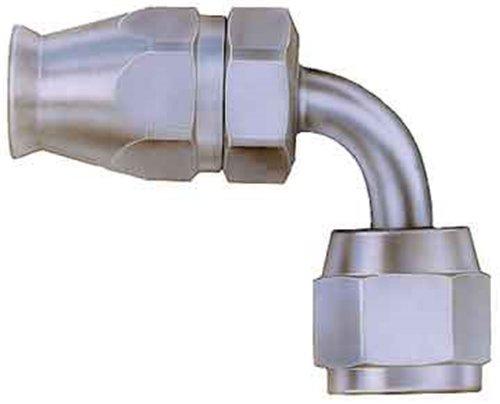 (Aeroquip FCM1122 Steel -06AN 90-Degree Hose Fitting )
