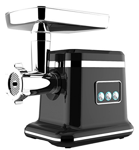 NESCO FG-10P, Food Grinder, Stainless Steel/Black, 650 watts (Electric Food Nesco Grinder)