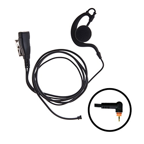 Over The Headset Ear Motorola (Impact 1-Wire Over The Ear Surveillance Earpiece for Motorola Wave TLK 100 SL7550 SL7580 SL7590 SL300 SL500 (M15-S1W-EH3))