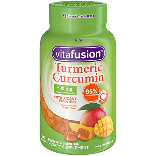 Vitafusion Turmeric Curcumin Gummy Supplement, 60 - Gummy Count 60