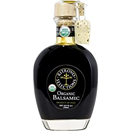 Ritrovo Selections Organic Balsamic - 8.5 fl. oz. 3 Ritrovo Selections USDA Organic Balsamic - 8.5 fl. oz. (250 ml.) Certified USDA Organic Great Balsamic for All Uses