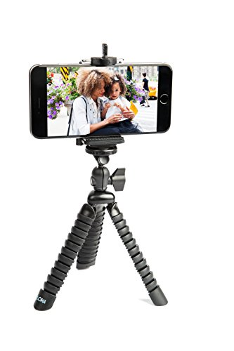 iPhone Tripod, Flexible Legs with Universal Grip Mount