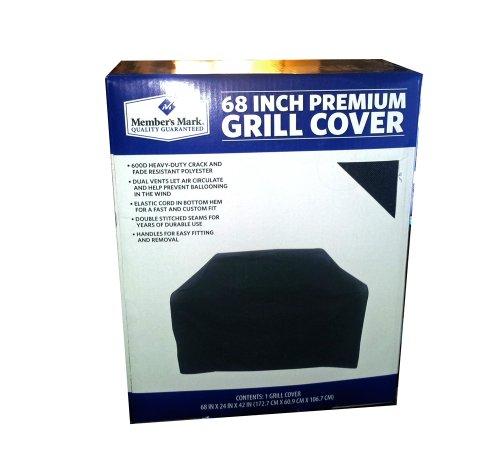 Members Mark 68 Inch Premium Grill Cover (Mark Members Grills)