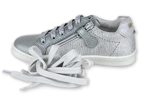PREVI PERL Sneaker Stones and Bones zus. Reißverschluss Silber