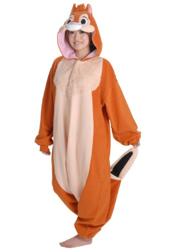 Dale Kigurumi - Adult Halloween Costume Pajama (Chip & Dale Cosplay) (Chip And Dale Chipmunk Costumes)