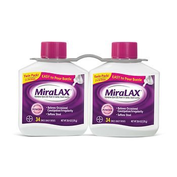 MiraLAX Powder 4Pack ((34 Does )20.4 oz Each ) ksk3REK Miralax-EE by Miralax