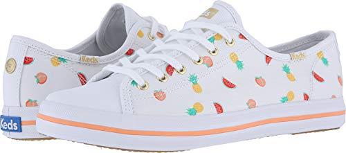 (Keds Women's x SunnyLife Fruits Kickstart Sneakers, White Multi, 5 M US)