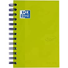 Oxford 100735775 School Soft Touch 2018-2019 Daily School Diary Day A Page, 12 x 18 cm, Lime