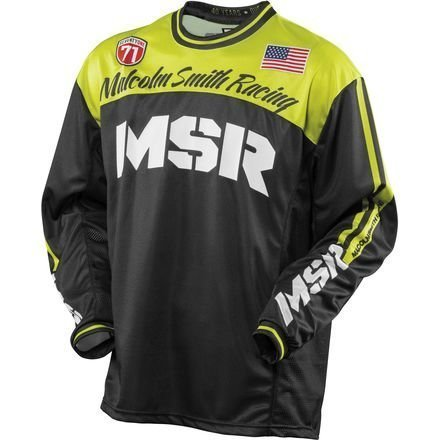 MSR Legend 71 Jersey, Distinct Name: Hi-Vis Yellow/Black, Gender: Mens/Unisex, Primary Color: Yellow, Size: 2XL, 361222