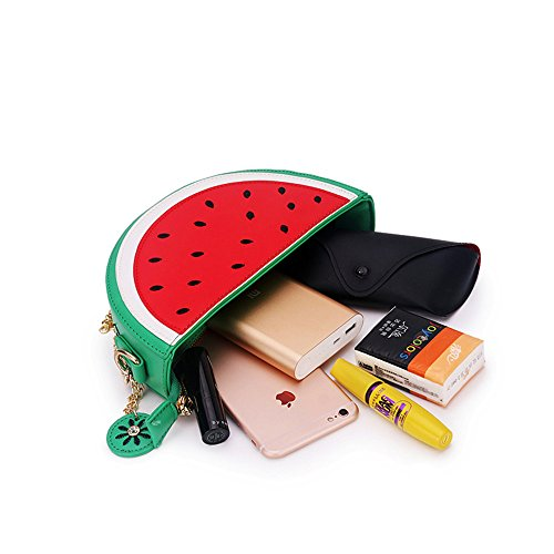 Latest Novelty Cute Watermelon Shape Shoulder Mini Bag for Women Photo #2