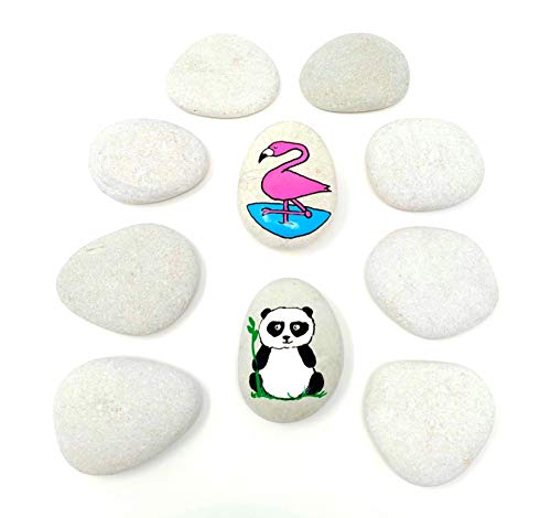 Capcouriers Painting Rocks - Rocks For Painting Kindness Rocks - About 2 inches in length from Capcouriers