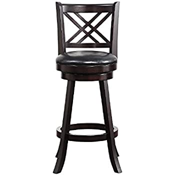 Amazon Com Boraam 65629 Porto Bar Height Swivel Stool 29