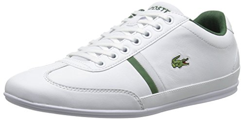 Lacoste Men's Misano Sport 116 1 Fashion Sneaker, White, 10 M US