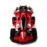 YXLONG Large Speed Racing Car Remote Control Car Children's Toy Charging Off-road Vehicle Shock Absorber Boy Gift, Red, Blue,Red