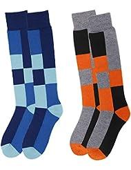 Lullaby Kids Kids Ski Socks Full Terry Lightweight Warm Merino Wool Skiing Socks