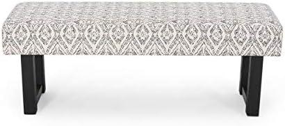 Cassie Boho Fabric Bench