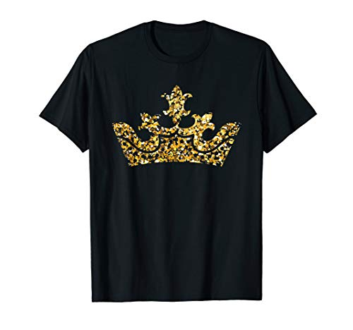 Crown Mens T-shirt - Prince Princess King Queen Crown  T-Shirt