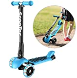 Banne Scooter Height Adjustable Lean to Steer Flashing PU Wheels 3...