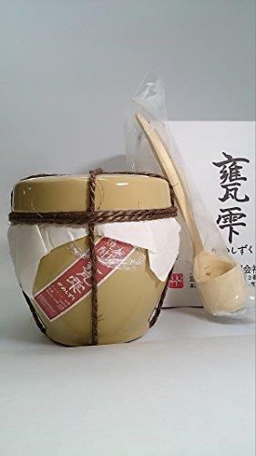 甕雫(かめしずく) 芋焼酎 1800ml 20度京屋酒造