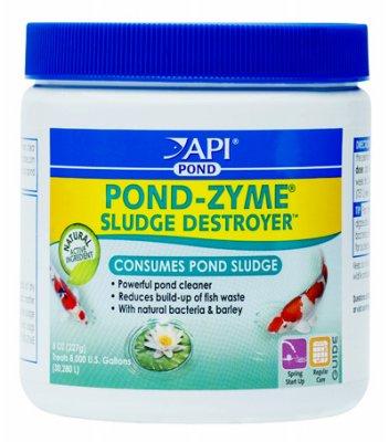 API Aquarium Pharmaceuticals Inc 146 8 Oz Pond-Zyme Sludge Destroyer,  Pack of 12 ()