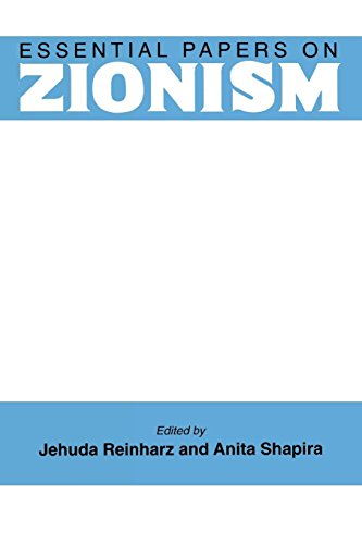 Essential Papers on Zionism (Essential Papers on Jewish Studies)