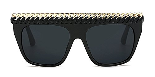 Slocyclub Women Flat Top Metal Chain Aviator - Aviators Ebay