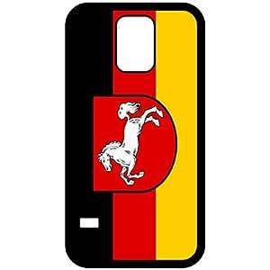 Lower Saxony Flag Black Samsung Galaxy S5 Cell Phone Case - Cover wangjiang maoyi