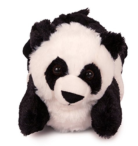 Lazy Paws Adult-Sized Panda Slippers (Size Medium (Panda Bear Slippers)