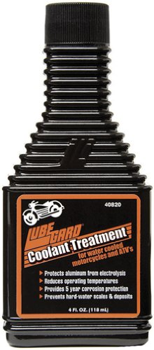 Lubegard 40820 Coolant Treatment for Motorcycles, 4 fl. - Purple Antifreeze