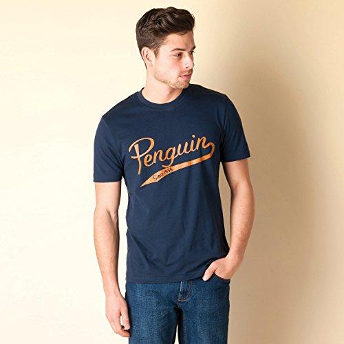 Original Penguin Herren T-Shirt blau blau