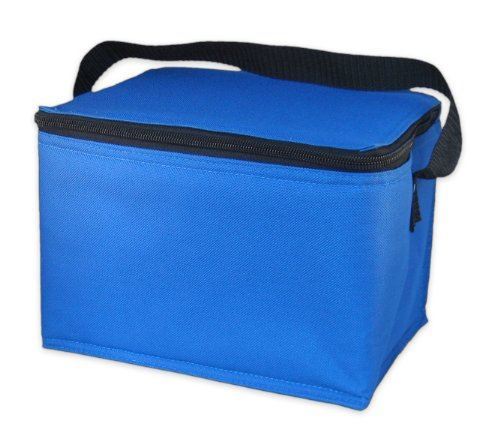 EasyLunchboxes Insulated Lunch Box Cooler Bag, Aqua