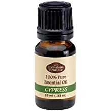 Cypress 100% Pure, Undiluted Essential Oil Therapeutic Grade - 10 ml. Great for Aromatherapy