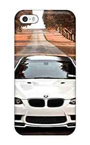 USMONON Phone cases New Style Hard Case Cover For Iphone Iphone 5 5s- Bmw M3 Branca