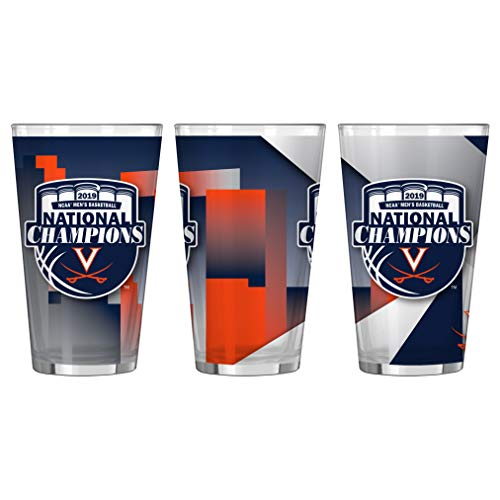 Boelter Brands Virginia Cavaliers 2019 NCAA Basketball National Champions Sublimated Pint Glass