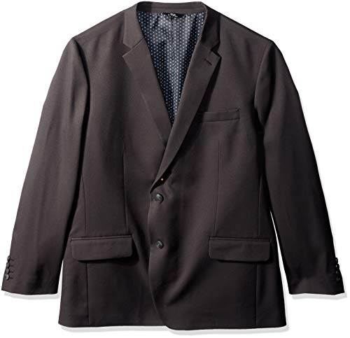 Haggar Men's Active Series Stretch Classic Fit Suit Separate Coat, Charcoal, ()