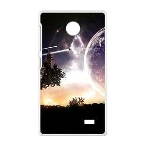 Earth And Trees White Phone Case for Nokia Lumia X