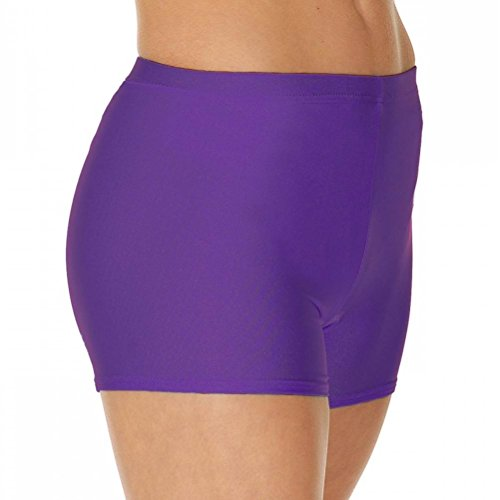 ginnastica Purple Valley Hot nylon pantaloncini Roch Lycra Dance da 07qZAOwn