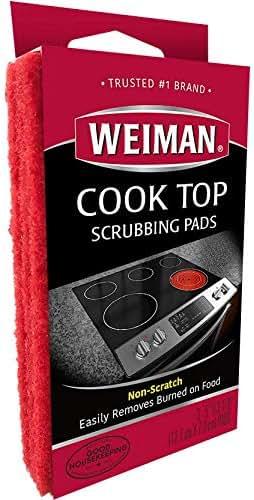 Sponges & Brushes: Weiman Cook Top