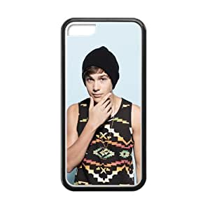 Custom Austin Mahone New Laser Technology Back Cover Case for iPhone 5 5s CLP07 WANGJING JINDA