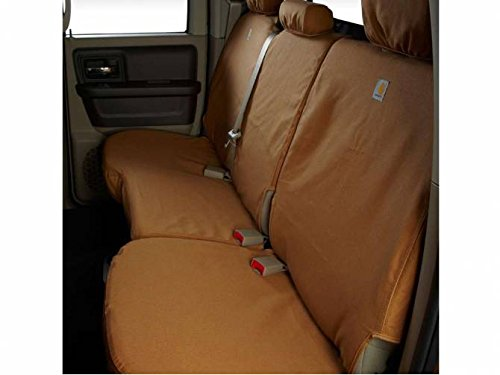 SSC8459CABN Covercraft Carhartt SeatSaver Second Row Custom Fit Seat Cover for Select Ford F-250 Super Duty//F-350 Super Duty Models Brown Duck Weave
