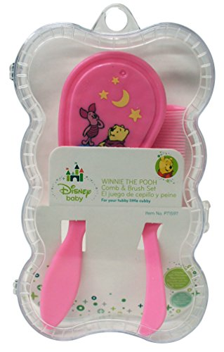 Pooh Bear Comb & Brush Set (Disney Brush And Comb Set)