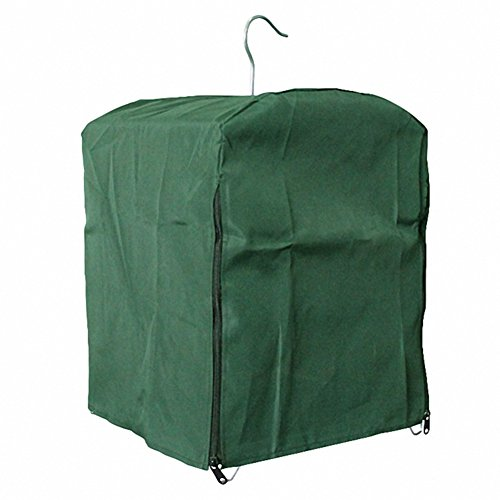 OMEM Universal Bird Cage Cover Green, 12 x 12...