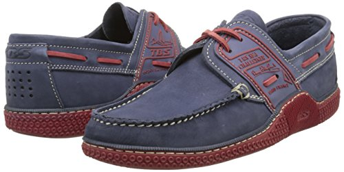 Tbs Rouge Chaussures Bateau Globek encre Bleu Homme U0gpxUr