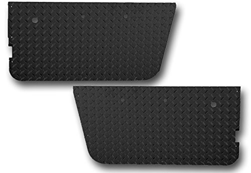 Warrior Products 90750PC Powder Coated OEM Full Door Insert for Jeep CJ7/YJ 76-96
